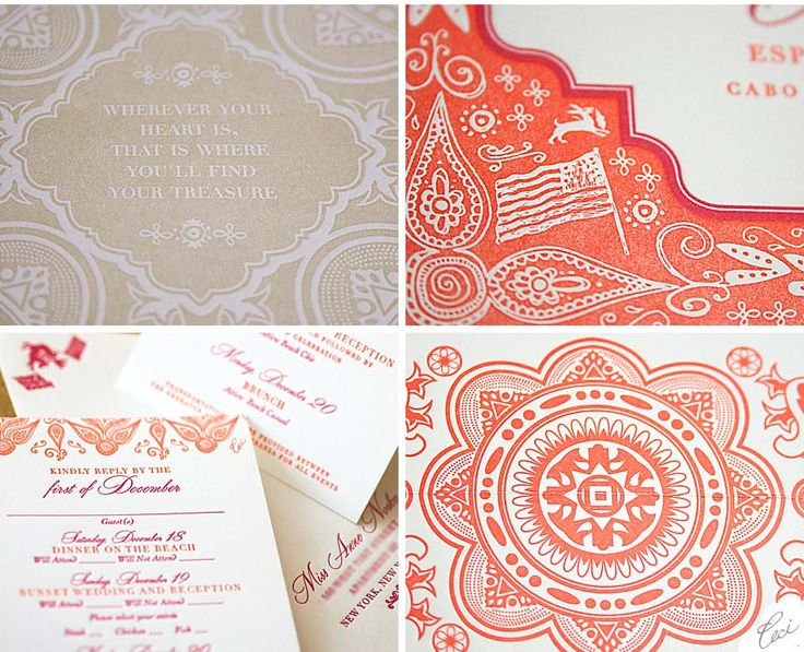 173 best Indian Wedding Invitations More images on Pinterest