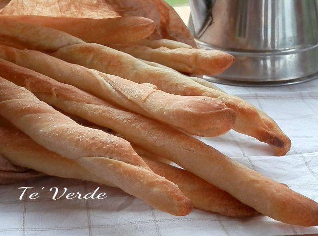 Grissini Con Pasta Madre - lievitazione naturale