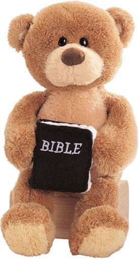 God Bless You Teddy Bear
