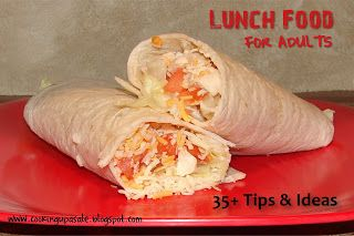 Lunch ideas for adults