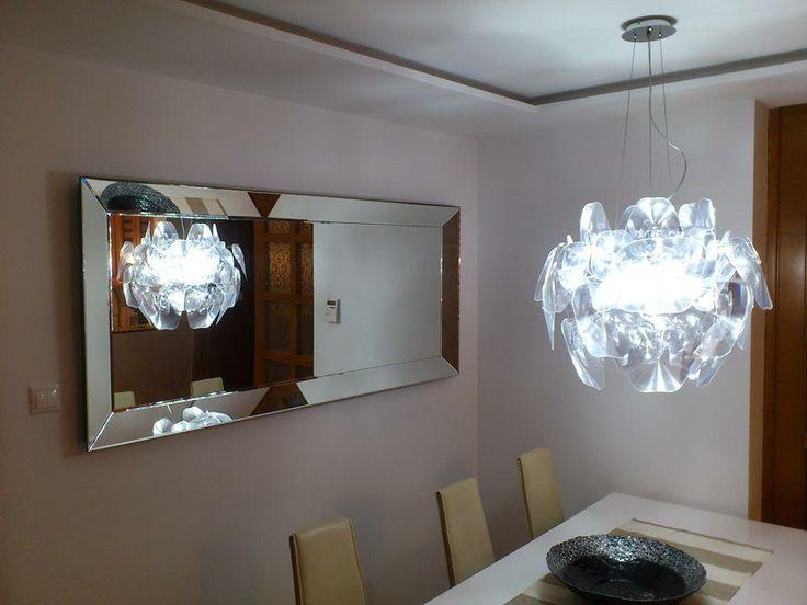 Zrkadlo z kolekcie Gaudia u zákazníčky v jedálni :)