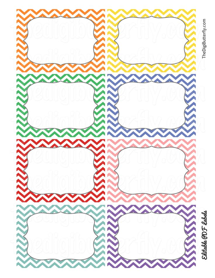 ideas about Free Chevron Labels on Pinterest | Chevron Labels, Chevron ...