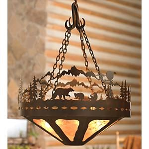 Bear Family Chandelier - 24 Inch by Black Forest Decor    http://www.blackforestdecor.com/rnlch2450r.html