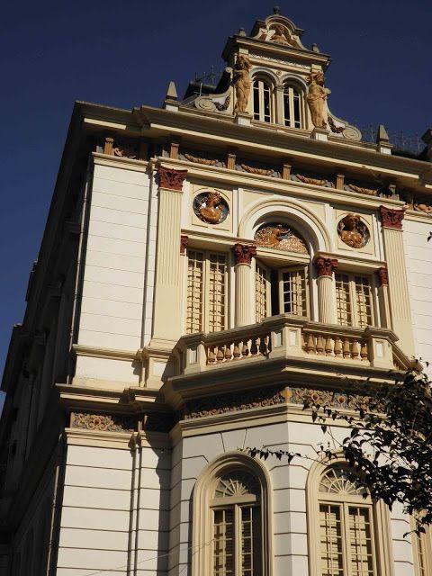 Detalhe do Palácio dos Campos Elíseos, antiga residência de Elias Pacheco Chaves,  o mais rico dos barões do café, construída entre 1896-1899 || Foto: Simone Catto