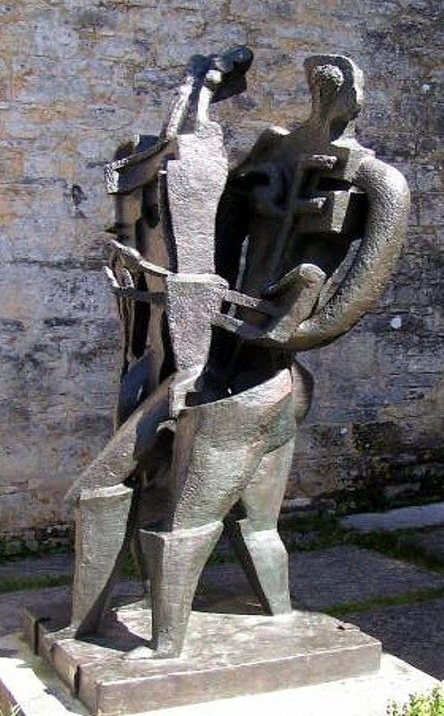 Musée Zadkine - Les Arques, 46 Lot, Midi-Pyrénées, France