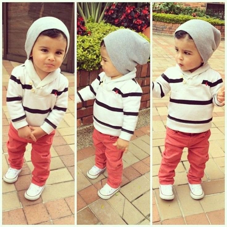 2PC 100% Cotton Kids baby Stripe Tops + leisure trousers sets suit boys clothing #NEW #DressyEverydayHoliday