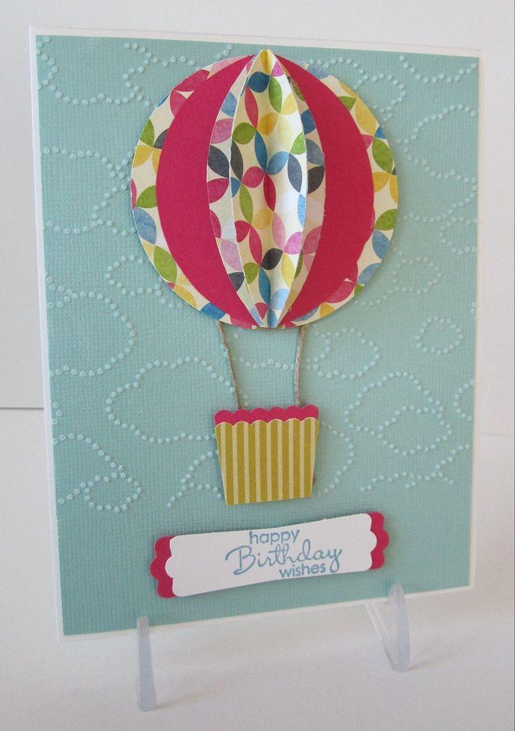 Объемные шарики на открытку, днем рождением