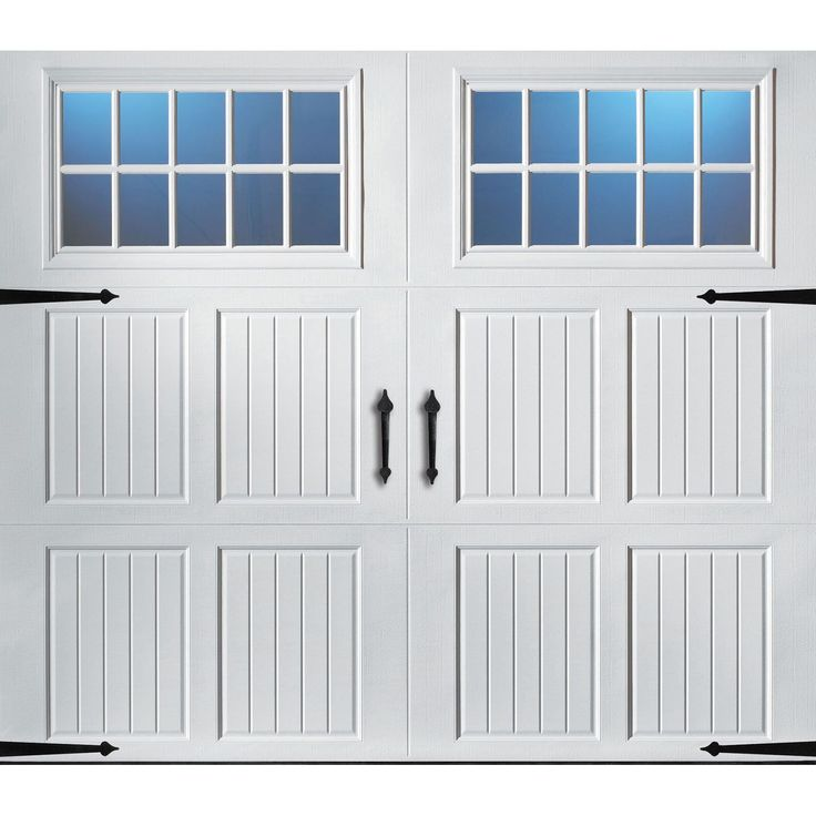 Amarr Classica 2000 White Carriage House Garage Door - Multiple Options Available (Save 15% March 1 - March 31) - Sam's Club
