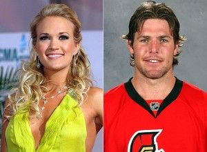 """Mike Fisher, Carrie Underwood's husband, signed 2 more years contract with Nashville Predators for 8.4 million dollars. Underwood said that she'll be cheering him on among fans, though Mike is known for his ice fights.    """"I've learned he's a tough guy. Mike's the kind of guy that does not complain. He could have, like, a broken ankle, and you'd never know it."""" Carrie Underwood said."""