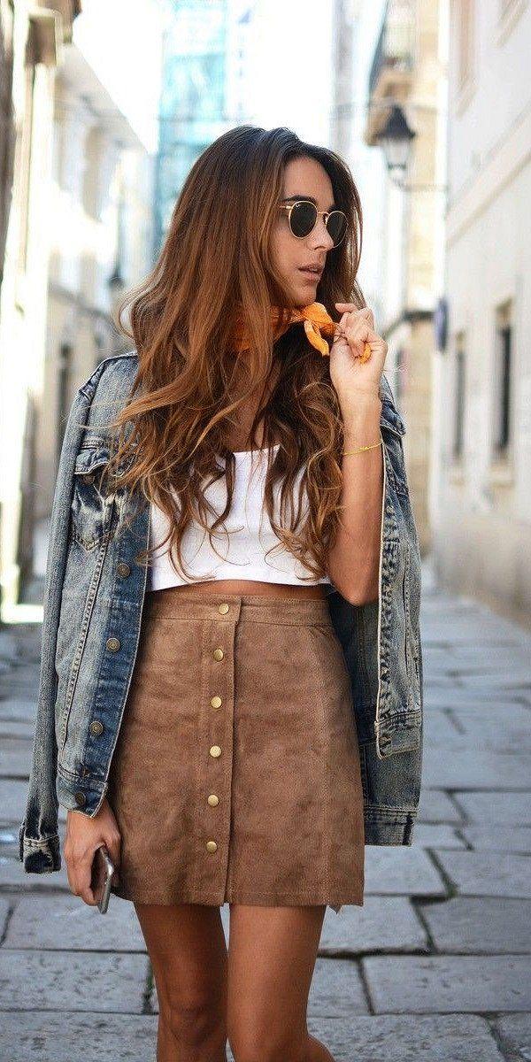 Джинсовая куртка - модный хит сезона  фото №11