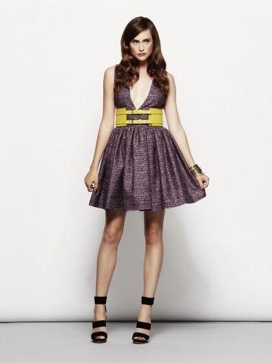 DIMITRI SS14 - onlineshop dress with low neckline