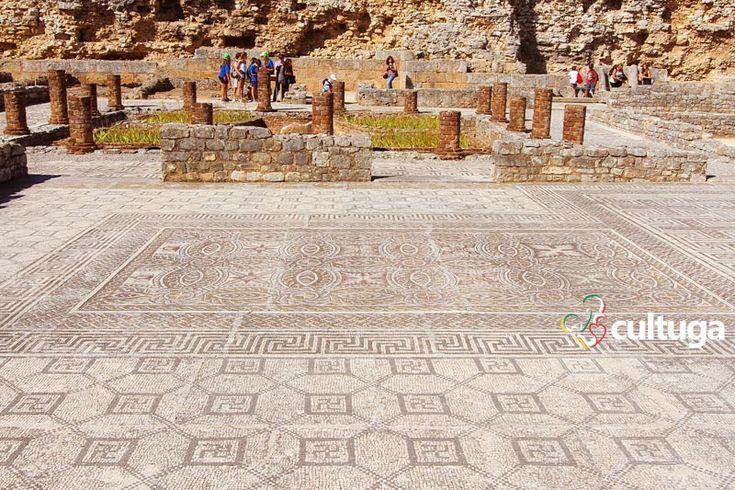 Ruínas Romanas de Conímbriga, em Portugal