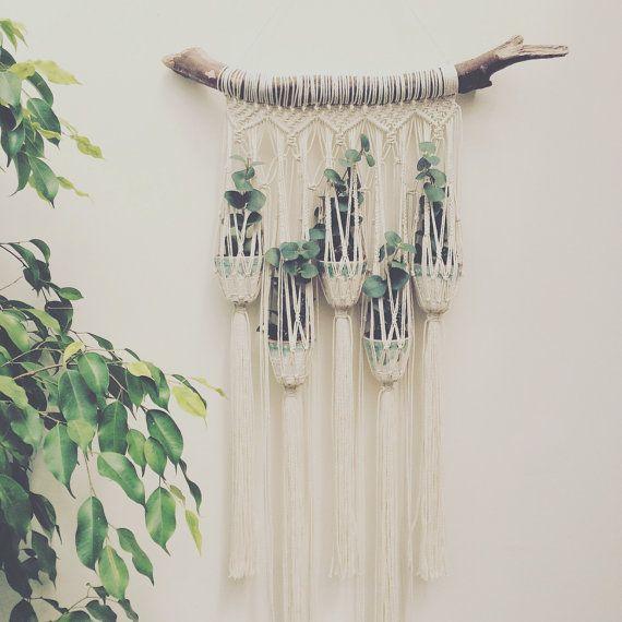 Macrame Plant Hanger, Macrame, Plant Hanger, Weaving, Macrame Wall Hanging, Boho Wedding, Fibre Art, Home Decor