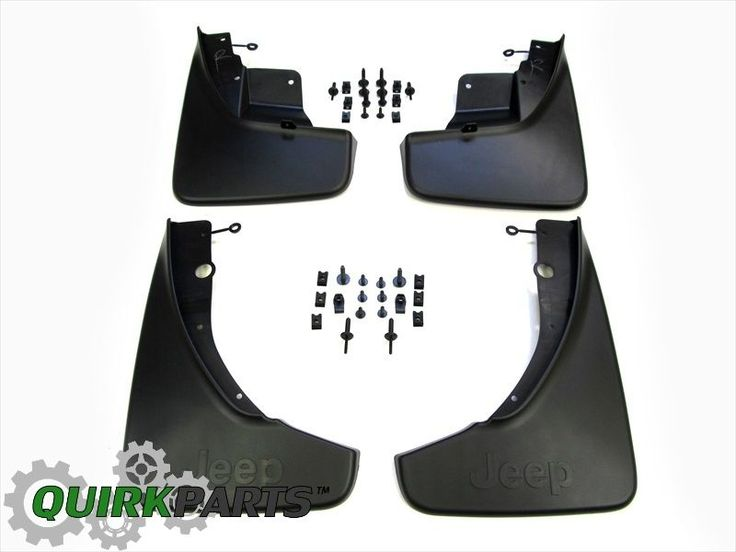 2011-2015 Jeep Grand Cherokee Splash Guards FRONT & REAR SET Genuine MOPAR OEM #Mopar