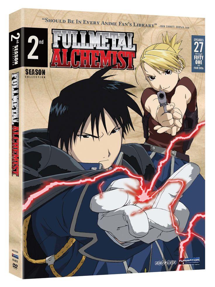 Fullmetal Alchemist Season 2 DVD Box Set (Hyb) - Viridian Collection #RightStuf2014