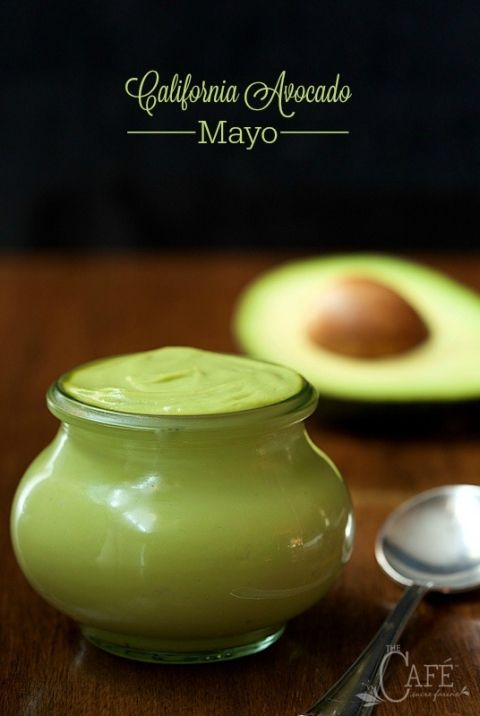 California Avocado Mayo - a healthy, fresh and delicious sauce/spread/dip/condiment that can be used in place of traditional mayonnaise. You'll find a zillion other ways to use it too!