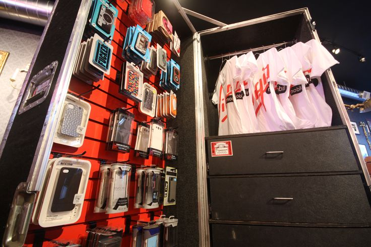 VIRGIN MOBILE'S   RETAIL STORE  The new Virgin Mobile flagship store throws away all conventions to bring an edgy, inviting, design-focused space to your cellular experience. The store pays homage to Virgin's roots in live music and culture with furniture and fixtures made from salvaged rock items. The space even includes a retired costume wardrobe once used by Guns N Roses keyboardist Dizzy Reed. So sit back, sip on an espresso and nerd out in this relaxed rock and roll living room. by…