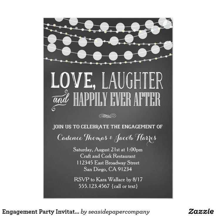 46 best Engagement Party Invitations & Announcements images on ...