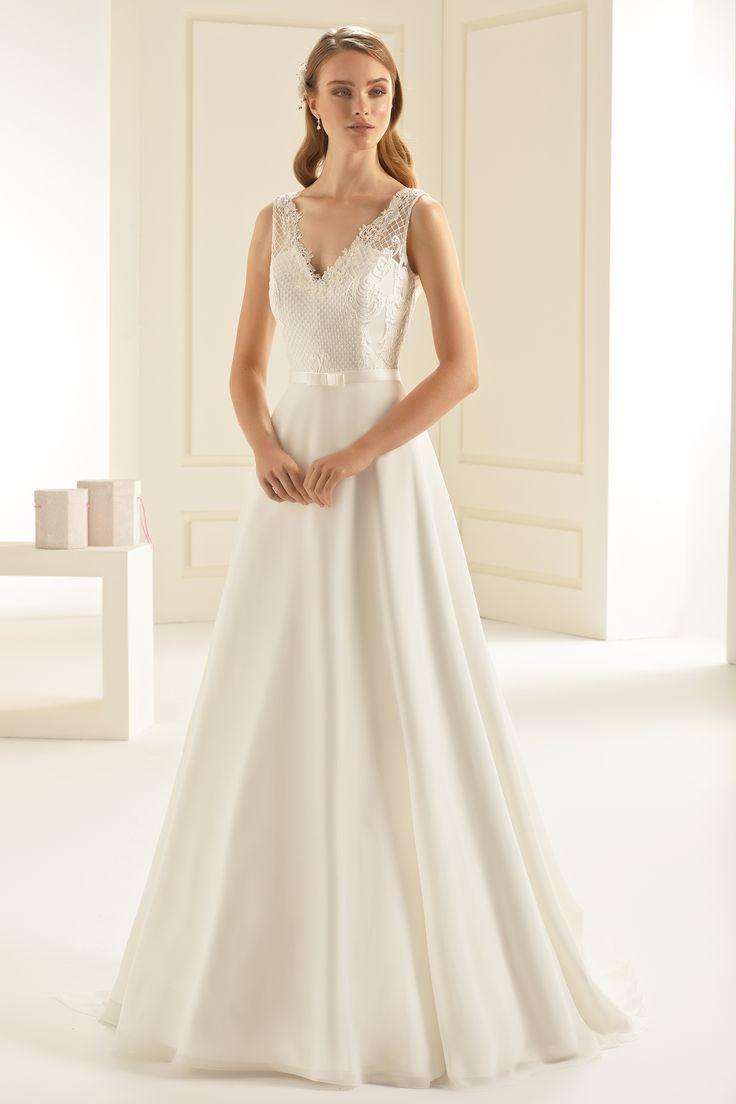 55 best Brautkleider 2018 images on Pinterest | Short wedding gowns ...