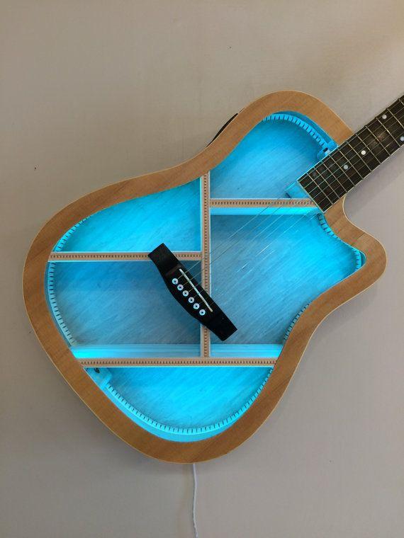 Guitar Shelf 40 by aRRtstudios on Etsy