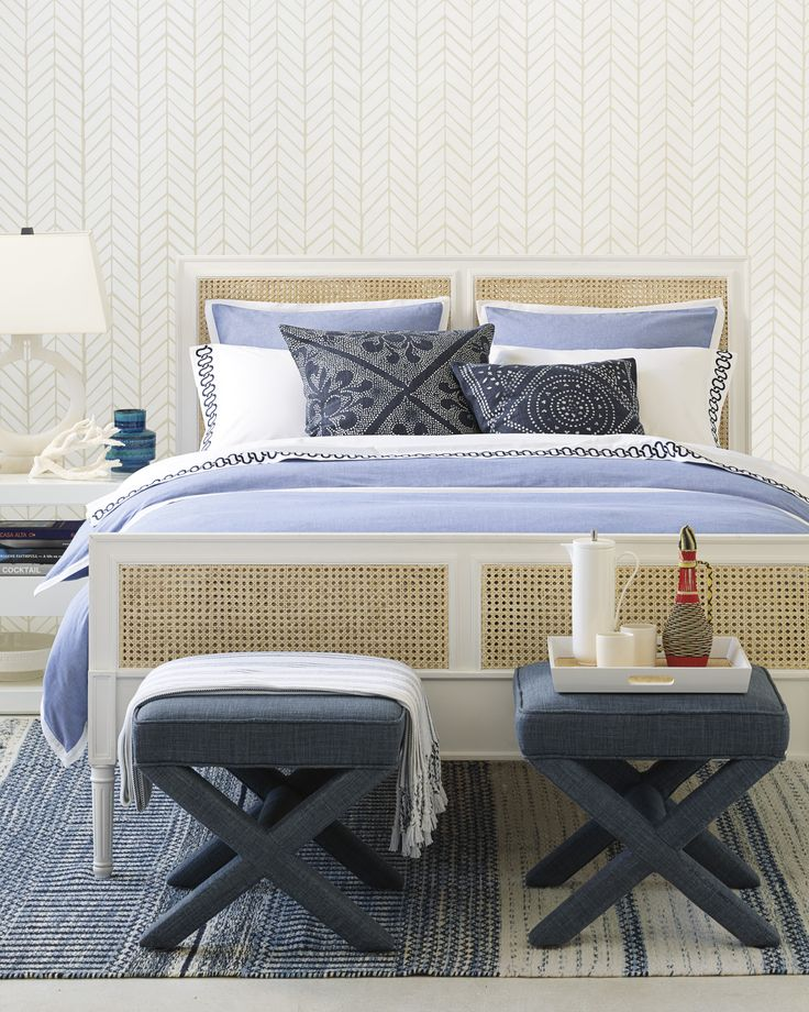 Wainscott serves as a perfect go-with-anything neutral. Framed with a crisp white border, the weighty weave gets softer and more relaxed with every wash (without ever losing its tailored finish).