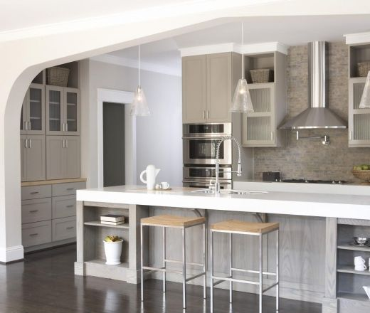 Gray Paint For Kitchen: 17 Best Images About Interior Paint Colours On Pinterest