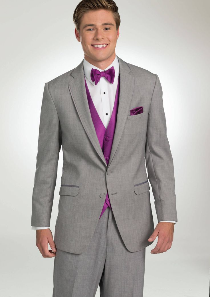 Heather Bartlett Two Button Notch by Allure-Men - Tuxedos