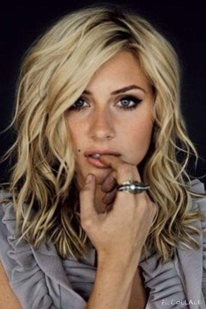 Image result for perm thick straight hair medium