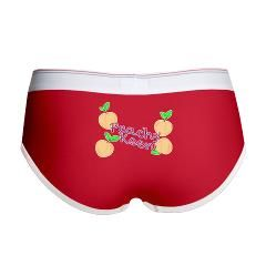 Everything is just peachy when wearing these!! www.cafepress.com/playtimeinc