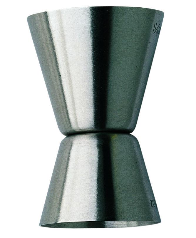 Pedrini Wijn & Cocktail - Double Jigger  Description: Sinds 1942 creëert het Italiaanse merk Pedrini een scala aan keukengerei. Met als belangrijkste punten de functionaliteit en het design. Pedrini producten zijn onmiskenbaar uniek met een innovatieve stijl voor dagelijks gebruik. In Italië is Pedrini inmiddels uitgegroeid tot één van de beste op het gebied van koken en keukengerei. Van een feestje met vrienden tot een formele receptie. Deze artikelen zijn een toegevoegde waarde voor uw…
