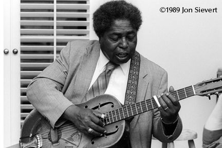 Is that the guy?  That's him. That's him. [Long pause.] Yes, it's him.  Johnny Shines varifies the 'latest' photo of himself and Robert Johnson. In The Complete 1989 Living Blues Interview.