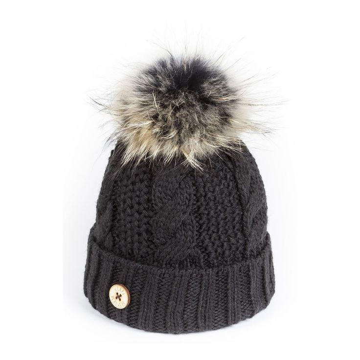 Bonnet pompon fourrure U Capa Headwear. Fashion and cozy. 3bdb06aed09