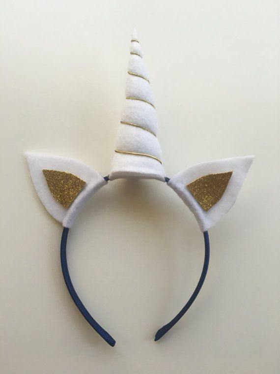 Unicorn Headband by kkDesignsByKayla on Etsy