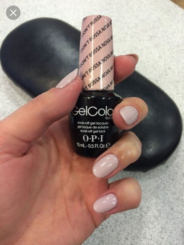 OPI Bossa Nova Gel Color ... was told to mix with Samson Sand