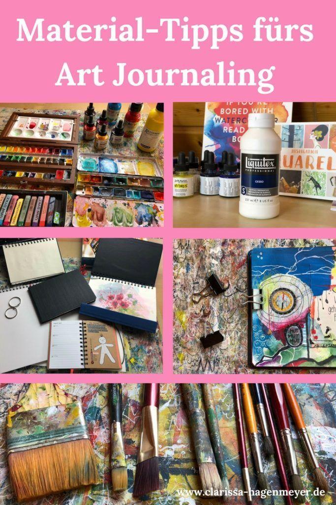Materials Art Journaling   – Kunst aus aller Welt