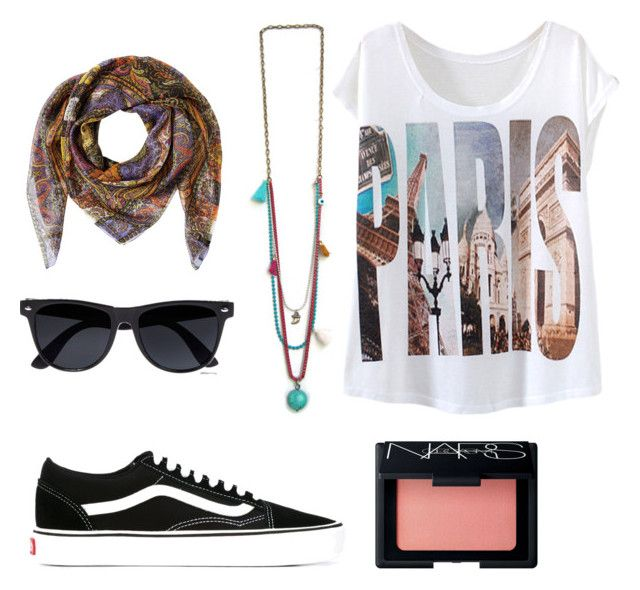 """""""Walking around"""" by maslindadesigns on Polyvore featuring Etro, River Island, Vans and NARS Cosmetics"""
