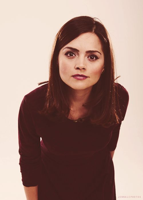 Jenna Louise Coleman- 'Clara Oswin Oswald' (Doctor No 11 and 12). She first appeared to No 11 as Oswin when she helped him escape. She appeared again as Clara and he realised she was the same woman but the characters had no idea of each other. She became known as the girl who lived and died TWICE. It is a Clara from 21st Century London that accompanies The Doctor. Knows nothing of the other two. Clara will see regeneration of Doctor No 11 into Doctor No 12.