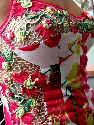 "Dress ""Dolche Vita"". Designer - Asia Verten, Italy. Oder pattern from www.irishcrochetlab.com"