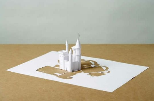 Бумажный скульптуры Питера Каллесена