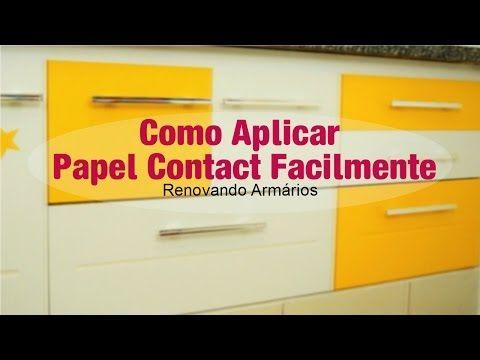 Como Envelopar Móveis Com Papel Contact (sem bolhas) - YouTube