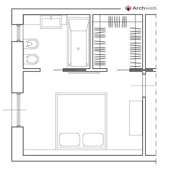 Progettare una cabina armadio misure e dimensioni minime for Progetto camera