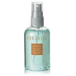 Borghese Effetto Immediato Spa Soothing Tonic for Sensitive Skin Tonique Thermal Apaisant Pour La Peau by Borghese. $8.99. new. 4 oz. 118 ml. A multipurpose, alcohol-free toner.  To Use: Spray on a cotton pad and sweep over cleansed neck and face. Follow with your restorative. Throughout the day, mist over face to refresh makeup.  4 fl. oz.  By Borghese; made in the USA.