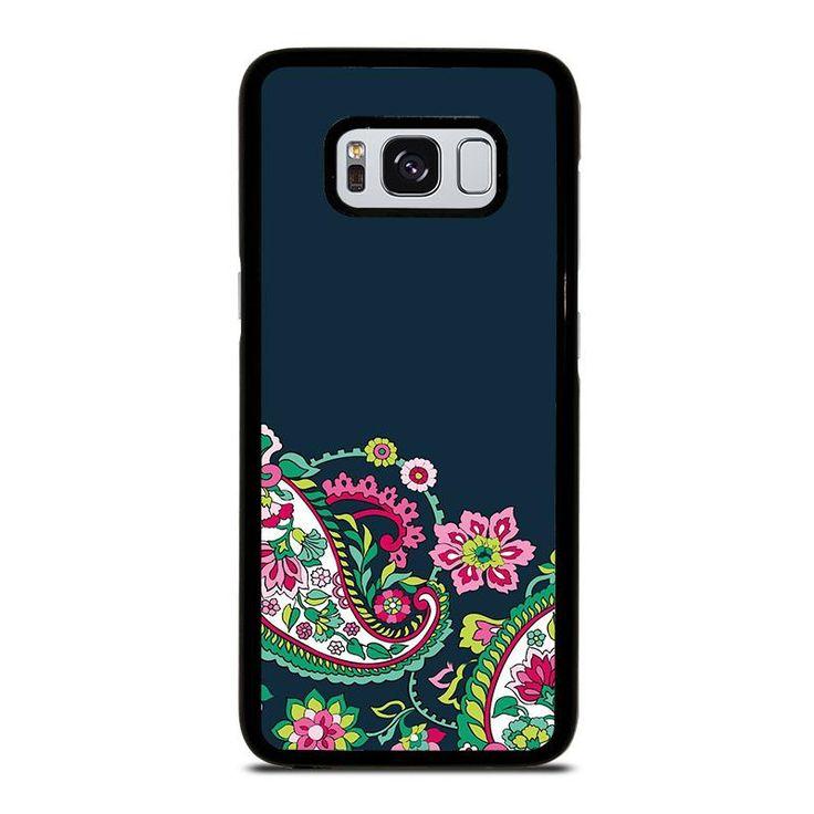 VERA BRADLEY PETAL PASILEY 2 Samsung Galaxy S4 S5 S6 S7 S8 S9 Edge Plus Note 3 4 5 8 Case Cover