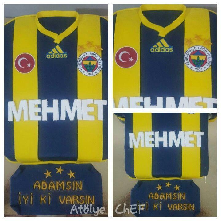 Fenerbahçe cake