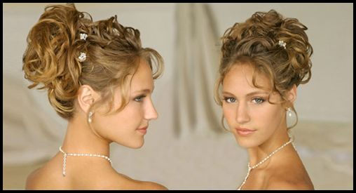 curly updos for thin hair