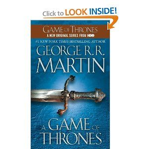 """""""Winter is coming""""  Summer goal #1 - Finish reading this book and start on the second one."""