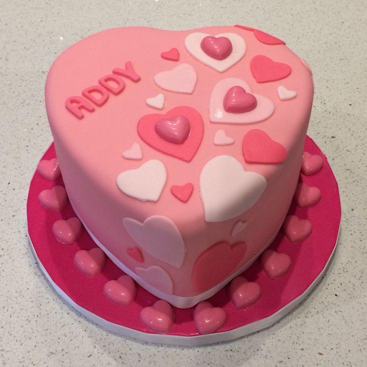 Heart Birthday Cake