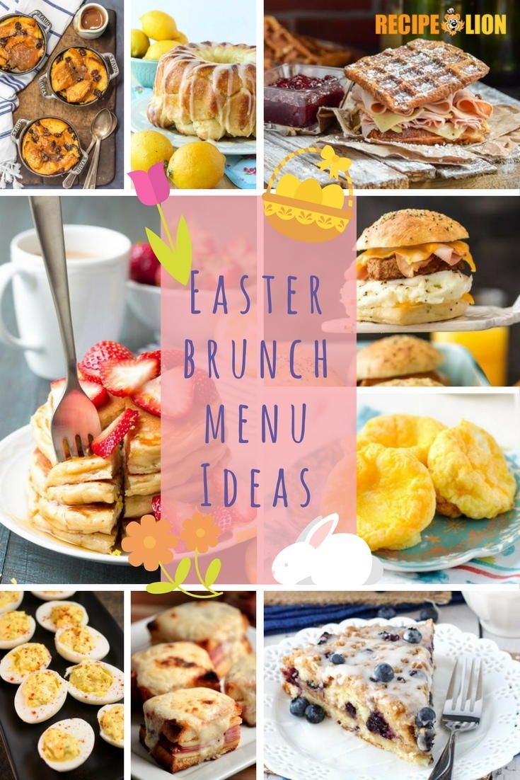 25 best ideas about easter brunch menu on pinterest for Easy easter lunch menu