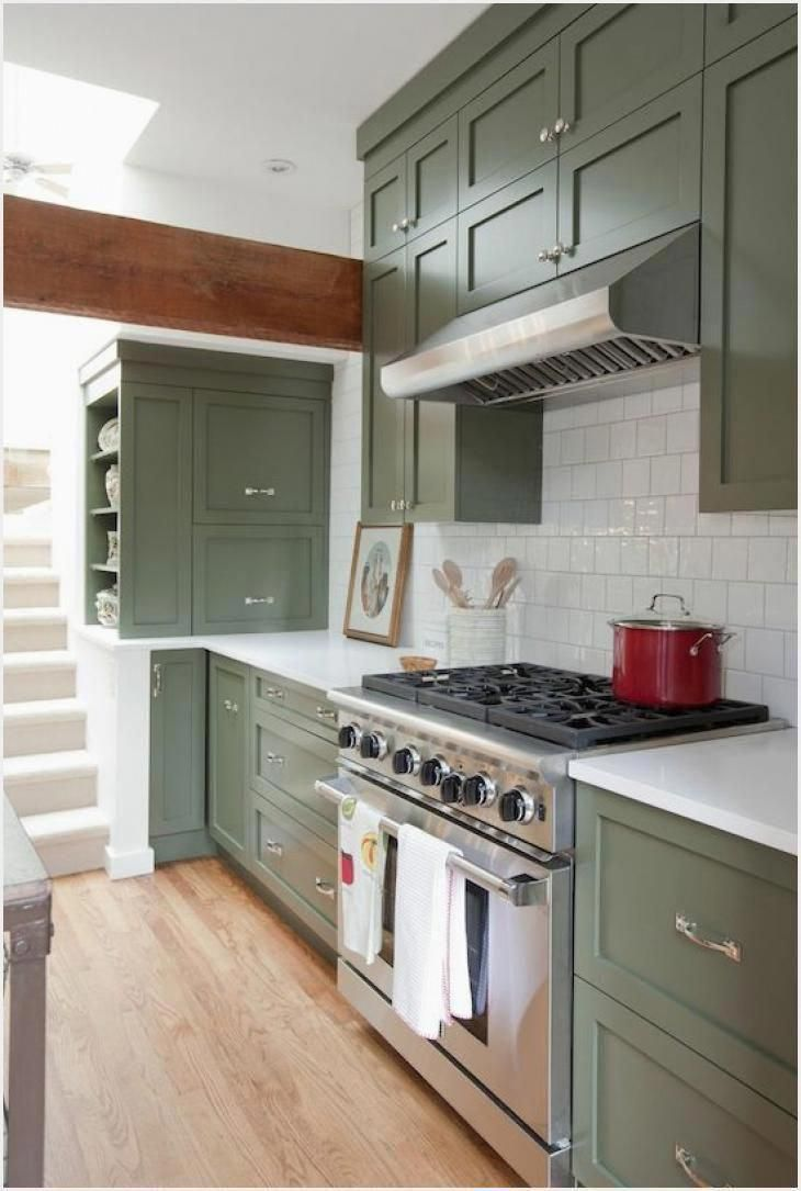 Sustainable Kitchen Cabinets Green Kitchen Cabinets Green Kitchen Cabinets In 2020 Green Kitchen Cabinets Refacing Kitchen Cabinets Cost Cost Of Kitchen Cabinets
