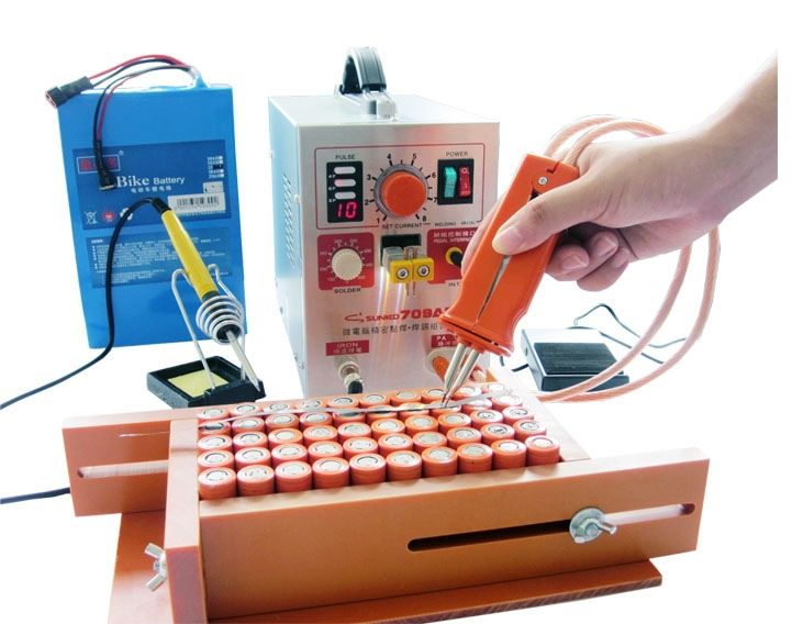 188.34$  Watch more here - 2017 NEW Updated(709A New Updated )2.2KW 709AD High-power battery digital display mobile soldering Spot welder  220V110V EU US   #buymethat